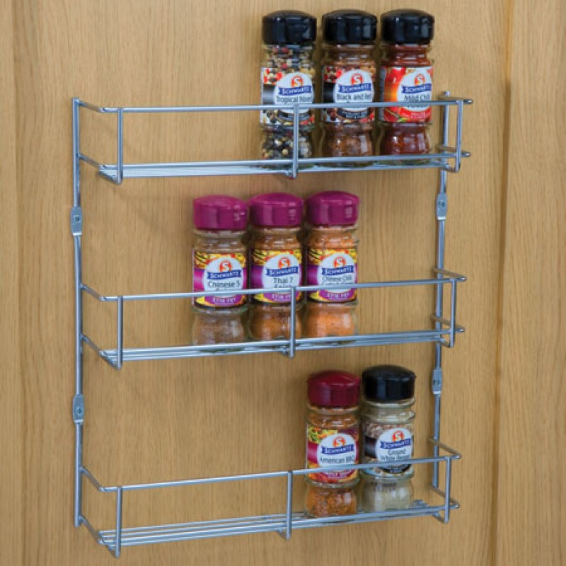 3 TIER SPICE RACK 400MM WIDE