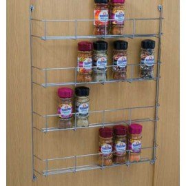 4 TIER SPICE RACK 400MM WIDE