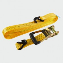 HEAVY DUTY J HOOK RATCHET STRAP 10M