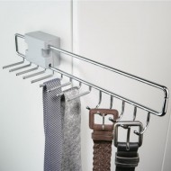 Wardrobe Storage Belt and Tie Rack (7)
