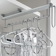 Wardrobe Rails and Storage Systems