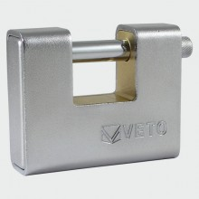 HIGH SECURITY ARMOURED BRASS PADLOCK