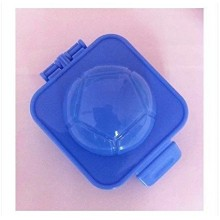 5CM ROUND BLUE FOOTBALL CAKE MOLD