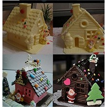 GINGERBREAD CHRISTMAS HOUSE CAKE MOULD