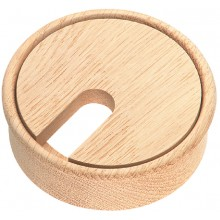 Wooden Cable Outlet Grommet