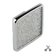 Glitter Knob Kitchen Drawer Cabinet Door Handle Cupboard Bedroom Furniture Hardware