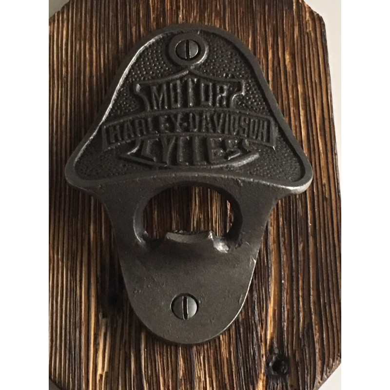 Marston's Beer Company Rustic Vintage Wall Mounted Cast Iron Bottle Opener