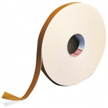 2 PK DOUBLE SIDED TAPE 25M ROLL 19MM WIDTH