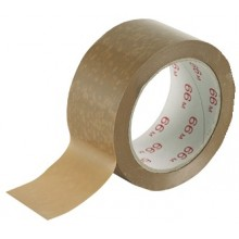 2 PK PVC PACKAGING TAPE 66M ROLL