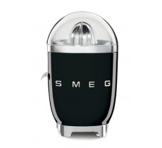 Smeg 50's Retro Style Citrus Juicer Anti-Drip Stainless Steel Spout Black