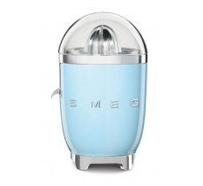 Smeg 50's Retro Style Citrus Juicer Anti-Drip Stainless Steel Spout Pastel Blue