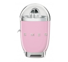 Smeg 50's Retro Style Citrus Juicer Anti-Drip Stainless Steel Spout Pink