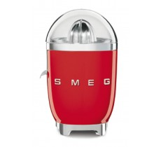 Smeg 50's Retro Style Citrus Juicer Anti-Drip Stainless Steel Spout Red