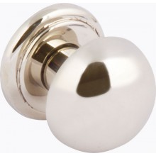 POLISHED NICKEL DOOR KNOB 32MM