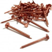 COPPER CLOUT NAILS 30MM X 2.65 PACK OF 25
