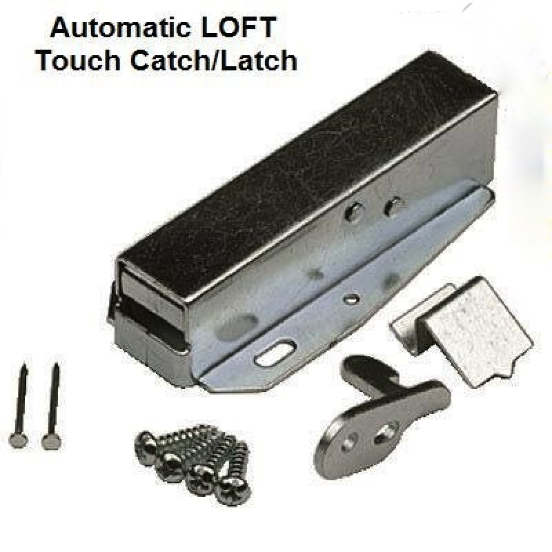 AUTOMATIC SPRUNG LOFT DOOR TOUCH LATCH CATCH