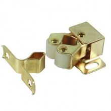 BRASS FINISH DOUBLE ROLLER CATCH