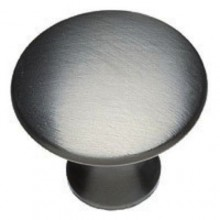 Brushed Satin Chrome 30mm Knob